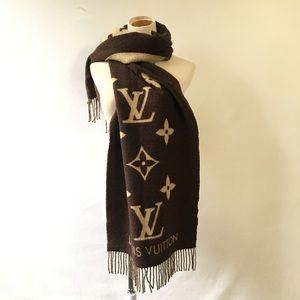 Louis Vuitton Monogram Cashmere Scarf